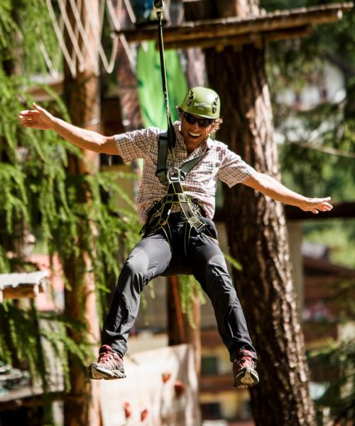 High ropes course Campo Tures