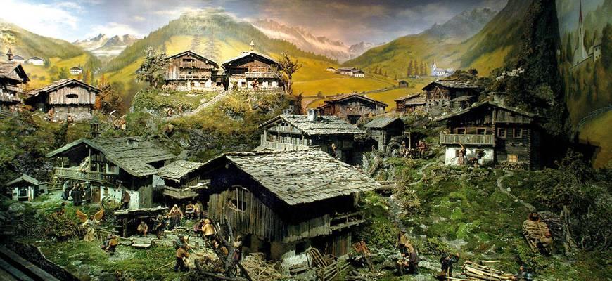 """Krippenmuseum """"Maranatha"""" Luttach"""